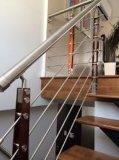 balustrades en bois amovibles populaires globales de la pêche à la traîne de paquet de fil (HR1363)