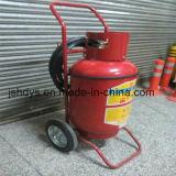 20kg fahrbarer CO2 Feuerlöscher (legierter Stahl, GB8109-2005)