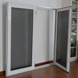 Finestra di alluminio della stoffa per tendine di profilo di alta qualità con il multi schermo K03027 dell'acciaio inossidabile della serratura