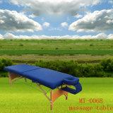 조정가능한 머리 받침 및 Armsling Mt 006b를 가진 휴대용 안마 테이블