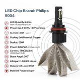 Jogo da conversão do bulbo do farol de 9004 diodos emissores de luz para o feixe de Ford Hi/Lo