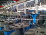 Aprire la fornace industriale infornata del filo di acciaio