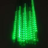 크리스마스 비 떨어지는 LED 유성우 빛