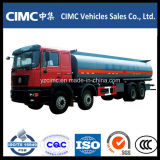 Chino 4 carro del tanque del transporte del petróleo de los árboles 8X4