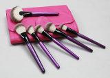 щетка состава классицистического пурпурового косметического художника инструмента 24PCS профессиональная