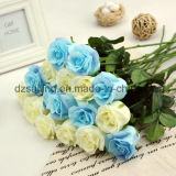 PU装飾(SW01503)のための人工的なローズの結婚式の花