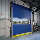 High Speed действия Китая дверь завальцовки PVC быстрого нутряного пластичная для мастерской (HF-309)