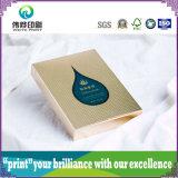 Caixa de papel de empacotamento de envernizamento UV da impressão dos cosméticos da beleza