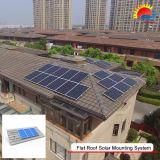 새로운 디자인 쉬운 설치 편평한 지붕 태양 가정 시스템 (400-0005)