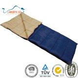 単一のエンベロプの長方形の山のキャンプの寝袋