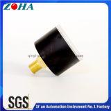 Zoll der Soem-pneumatischer Luftdruck-Anzeigeinstrument-doppelten Schuppen-1MPa 40mm/1.5 mit dem Vorwahlknopf nach Maß