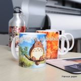 Mouse Pad, Mug, Hard Surface 및 Gifts를 위한 A4/A3 Sheet Size 반대로 Curl Sublimation Transfer Paper