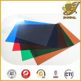 Stijf pvc Sheets van Colorful Glossy met PE Masking