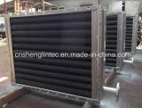 Hochtemperaturdampf-Edelstahl-geripptes Gefäß-Wärmetauscher