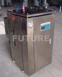 Caldera de vapor eléctrica compacta del acero inoxidable de China 42kg/H 30kw