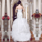 2016 Beading Ruffles Real Photos Mermaid Wedding Dresses (TM-MS005)