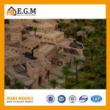 고품질 아BS는 건축 가늠자 건물 모형 만드는 요인 또는 모형 주거 건물 모형 또는 Medina 오래된 모형 건설하기 만든다