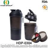 [600مل] يحرّر [هيغقوليتي] [ببا] بلاستيكيّة بروتين مسحوق رجّاجة زجاجة, حديثا [بّ] بلاستيكيّة بروتين رجّاجة زجاجة ([هدب-0304])