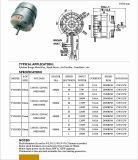 Motor elétrico do capacitor do baixo consumo para o secador da mão