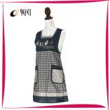 Jardim coreano da impressão do algodão do estilo que cozinha o avental da cozinha