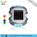 Style de papillon Aluminium Alloy Park Fountain Light Solar Road Stud