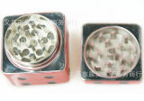 Rectifieuse de fumage en métal de ventes de mode en métal de forme en alliage de zinc chaude de matrices