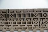 Tipo plano correa modular de la eficacia alta del transportador plástico