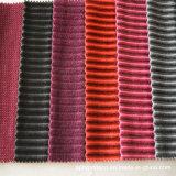 Microfiber 실내 장식품 폴리에스테 줄무늬 소파 직물