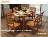 Tabella pranzante piegante della mobilia della Pranzare-Tabella dello scrittorio di legno di legno di legno della presidenza