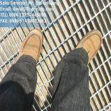 Acero con poco carbono galvanizado que ralla para el suelo y la cubierta del foso