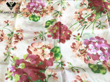 Hoher Grad-bunte Blumeberühmter Hangzhou-Seide-Schal der Dame