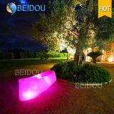 LED beleuchteter quadratisches faules Sofa-aufblasbarer Luft-Bett-Schlafsack
