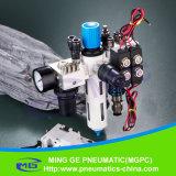 Комбинация обработки источника воздуха для машины безшовного нижнего белья
