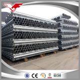 Standard galvanizzato delle BS 1387 del tubo d'acciaio del TUFFO caldo