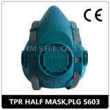 Halbes Gesicht der mehrfachverwendbaren Respirator-Atemschutzmaske