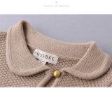Vestiti delle ragazze delle lane di 100%/cardigan di lavoro a maglia maglione dei vestiti