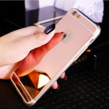 iPhone 6sのための低いPrice GoldenローズMirror TPU Cell Phone Case