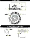 louro elevado do diodo emissor de luz da microplaqueta do excitador & da Philips de 100W 150W 180W Meanwell com 130lm/W