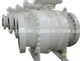 Válvula de bola del muñón de acero al carbono