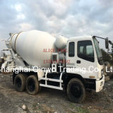 Japon Isuzu Béton Ciment Mixeur Camion Vente aux Philippines (10PE1engine)