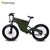26*4.0 [48ف] [500و] دراجة كهربائيّة سمين مع دوّاسة مساندة
