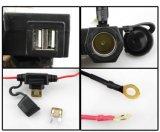 방수 5V/3.1A는 요금 방식 DC 12V 차 담배 점화기 소켓을%s 가진 USB 산출 기관자전차 자전거 핸들 죔쇠 힘 접합기 충전기 USB 이중으로 한다