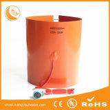Elemento de aquecimento flexível elétrico 240V do calefator feito sob encomenda da borracha de silicone do tamanho 110V 120V