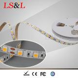 5050 Ledstrip 빛 60LEDs/M, 14.4W, 5m/Roll 세륨 & RoHS