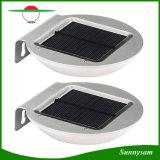 16 LED-drahtloses angeschaltenes Lampen-Mikrowellen-Radar-Bewegungs-Fühler-Solarlicht für Patio, Plattform, Yard, Garten, äußere Wand