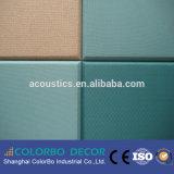 Comitato di parete acustico del tessuto di Absorpting del suono del materiale da costruzione