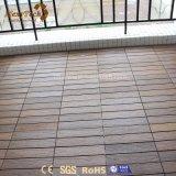 Tuiles extérieures de verrouillage bon marché recyclables chaudes de paquet du plancher WPC de vente