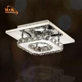 Lámpara cristalina ligera moderna de la venta caliente para la decoración de las escaleras