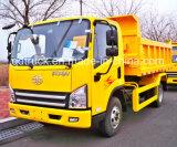 caminhão de descarga da luz do Tipper do descarregador de 3ton 5ton HOWO Dongfeng FAW