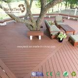 Decking impermeable e incombustible del grano de madera de WPC de la coextrusión para el jardín